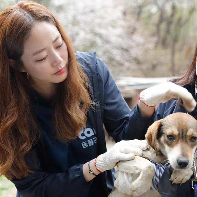 배우 김효진, 케어에 화보 수익금 전액 또 다시 기부