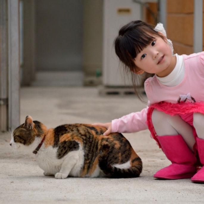 반려동물과 교감하는 아이 정서 안정