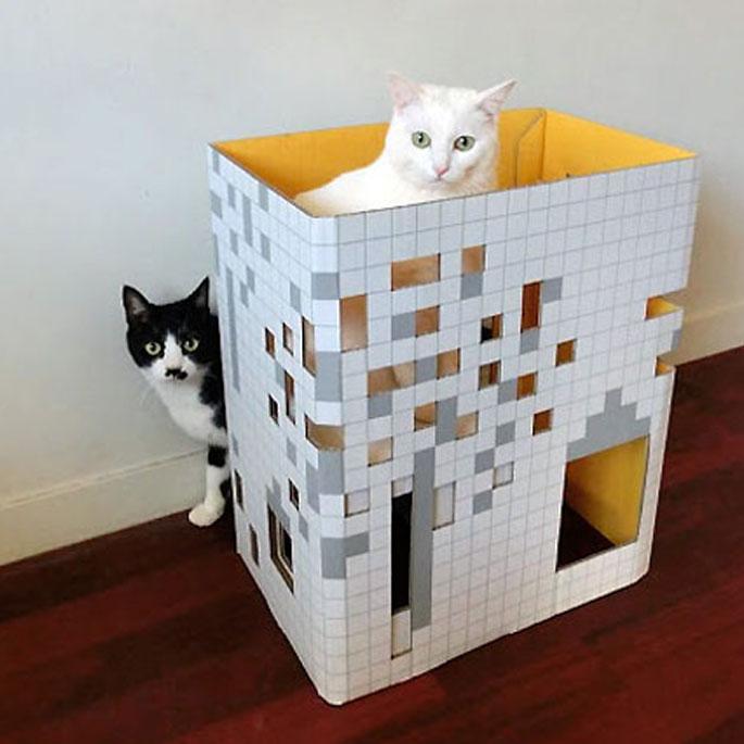 집사는 소소하지만 고양이는 행복한 생활 아이디어 4가지