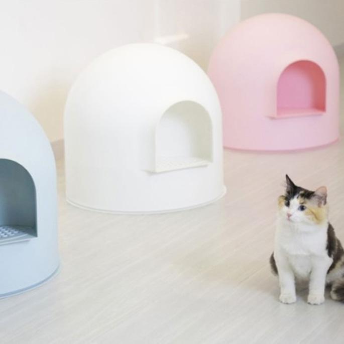 고양이화장실은 인테리어다