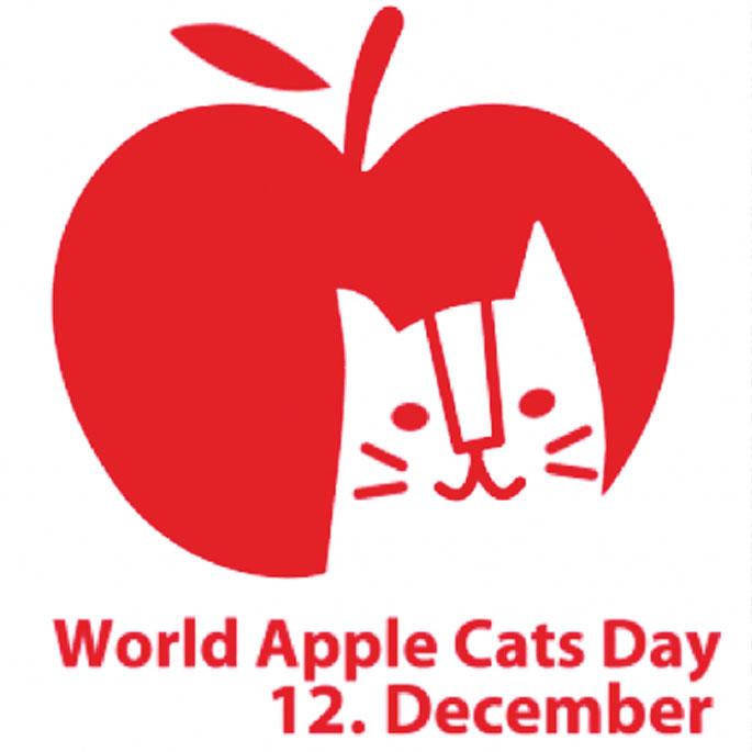 애플캣을 아시나요? 12월 12일은 세계 애플캣의 날!