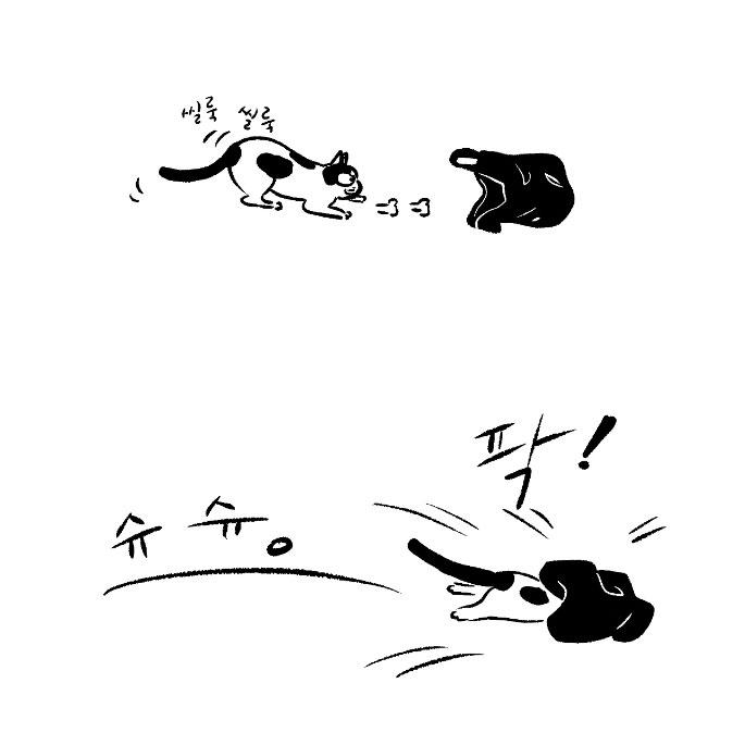고양이사전. 제6화 봉지