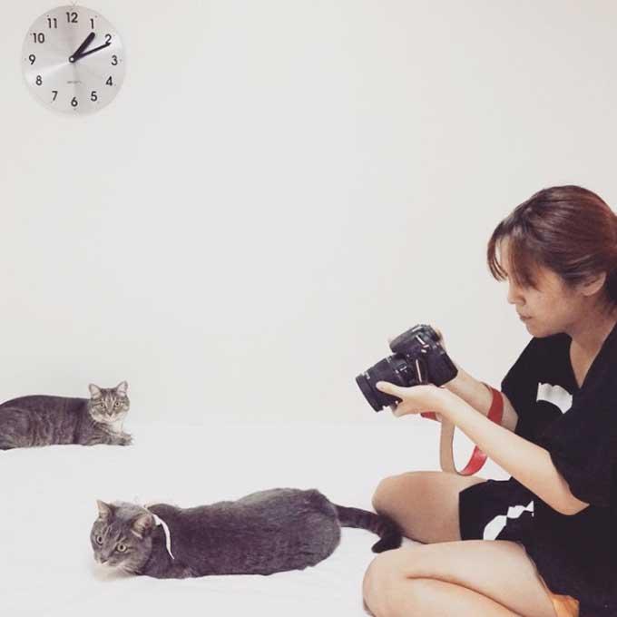 Q. 고양이를 찍을 때 플래시를 켜면 절대 안 되는 이유