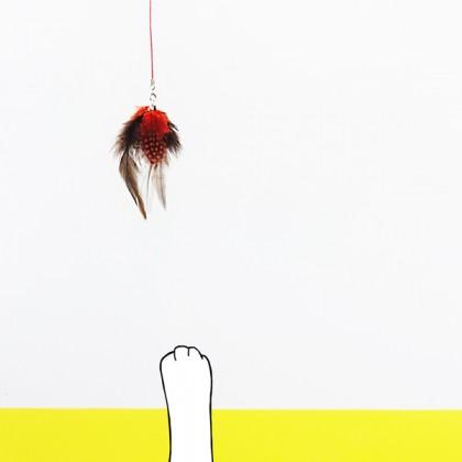 피싱캣_고양이 낚시대