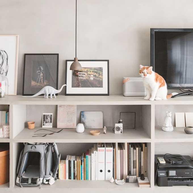 일본 냥덕들은 어떻게 살까? 신간, '고양이와 함께 사는 인테리어'